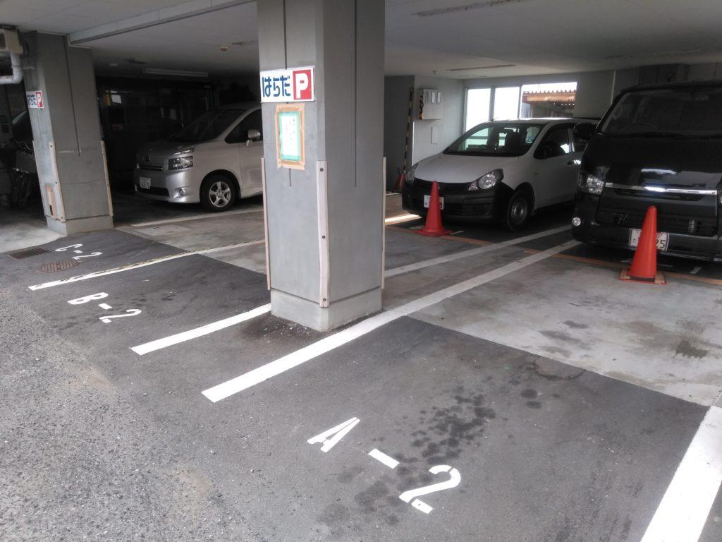 普通車駐車場